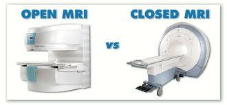 Open vs. closed MRI