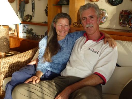 Cheryl and Mark Mitchell