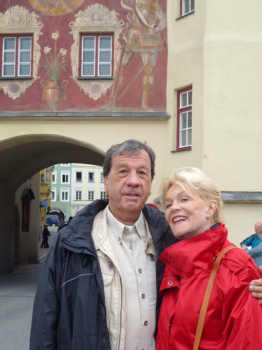 Jean-Claude and Claudie in Munich