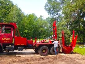 2 Tree-planting rig, web