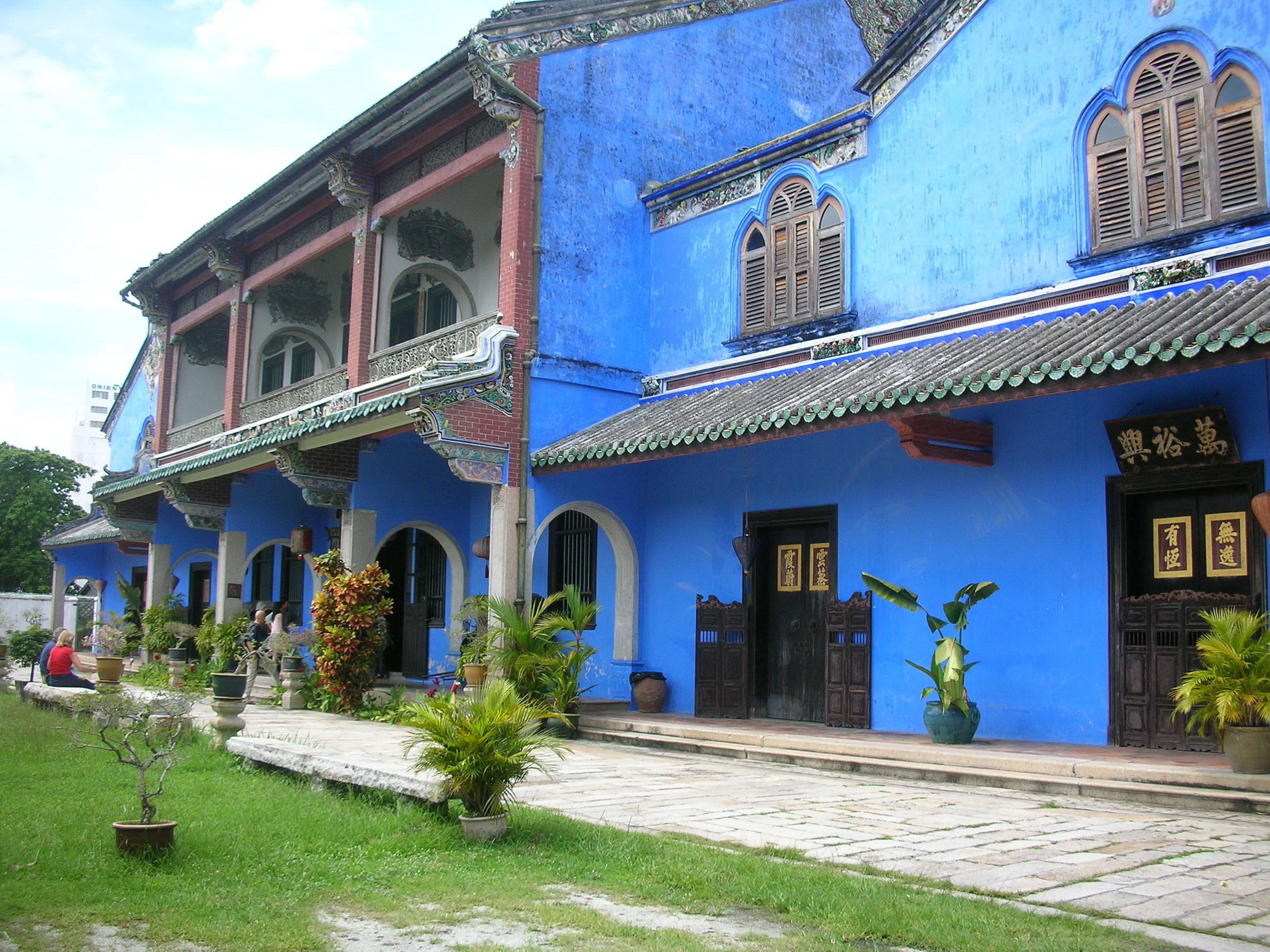 The Blue Mansion in Penang Malaysia SailorsTales