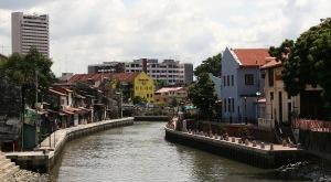 A River Runs through it, Melaka, Malaysia