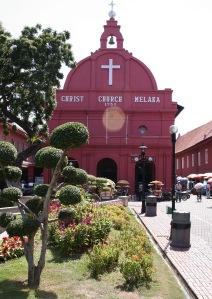 Dutch-themed town square, Melaka