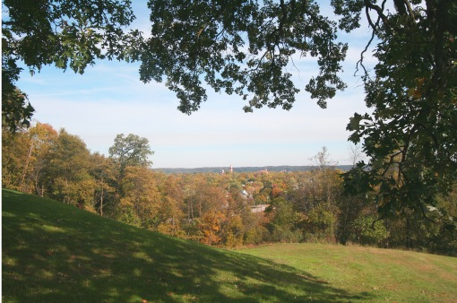 View from Hermann Heights, New Ulm