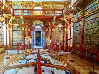 Library at Stift Melk