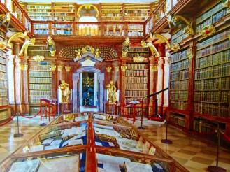 Library at Stift Melk