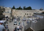 The Wailing Wall, Old City Jerusalem, Israel, The Long Way Back