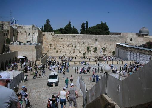 The Wailing Wall, Old City Jerusalem, Israel, The Long Way Back