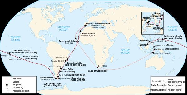 Magellan Elcano Circumnavigation