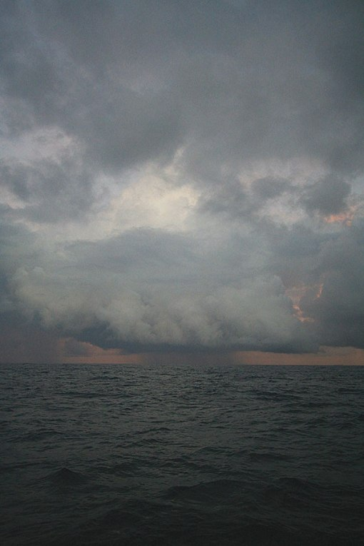We endured 7 days of rain and squalls during our passage from the Similans to Sri Lanka From The Long Way Back.