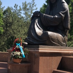 Tashkent Memorial to the fallen in World War II.