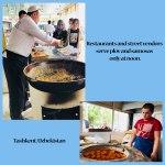 Tashkent plov and samosas