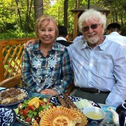 Tashkent garden restaurant