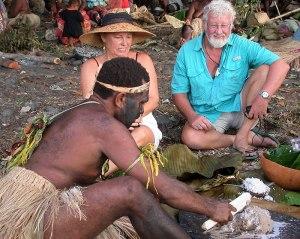 Sharing Lap-Lap in Vanuatu