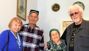 Lois and Günter with Zulya's parents.
