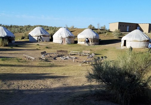 Uzbekistan yurts