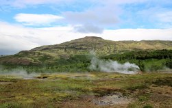 Geysir the land of boiling waters