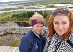 Iceland Pingevellir overlook.