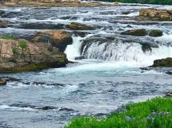 Fossárrétt waterfall Iceland