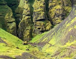 auðfeldsgjá Gorge Snaefellnoss Penninsula Iceland
