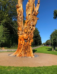 Magnificent Carved Tree Ireland