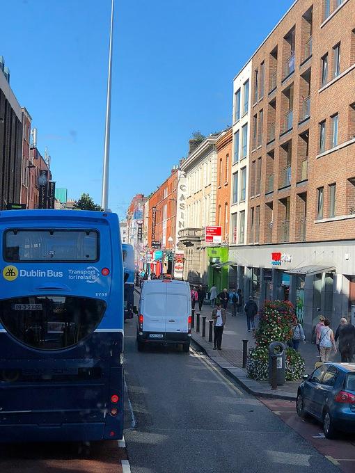 Dublin double-decker bus