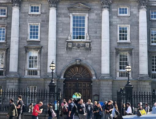 Trinity College library Ireland