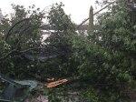 White Ash Lake Tornado 2019