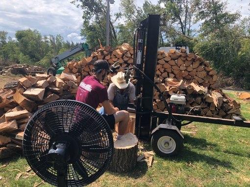 Splitting logs1