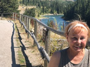 Lois at Snake River