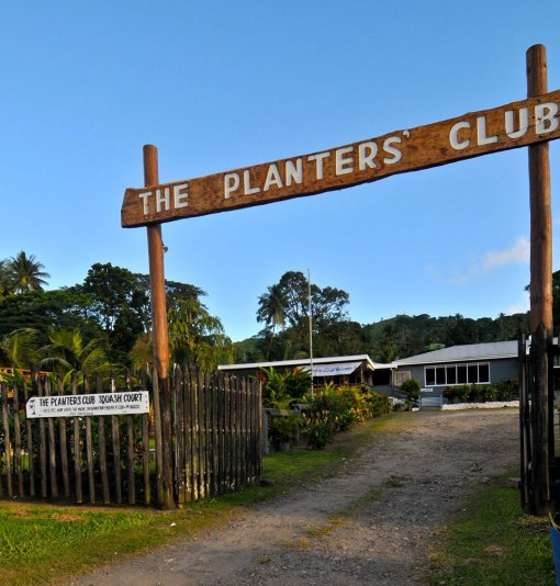Planters Club, Savusavu, Fiji