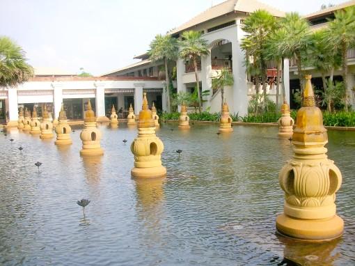 Fountains at Phuket Marriott Nai Yang Beach
