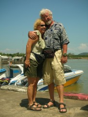 Lois and Gunter in Phuket, Thailand