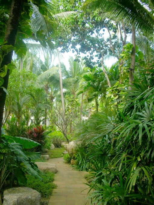Tropical grounds at Marriott on Andaman Sea
