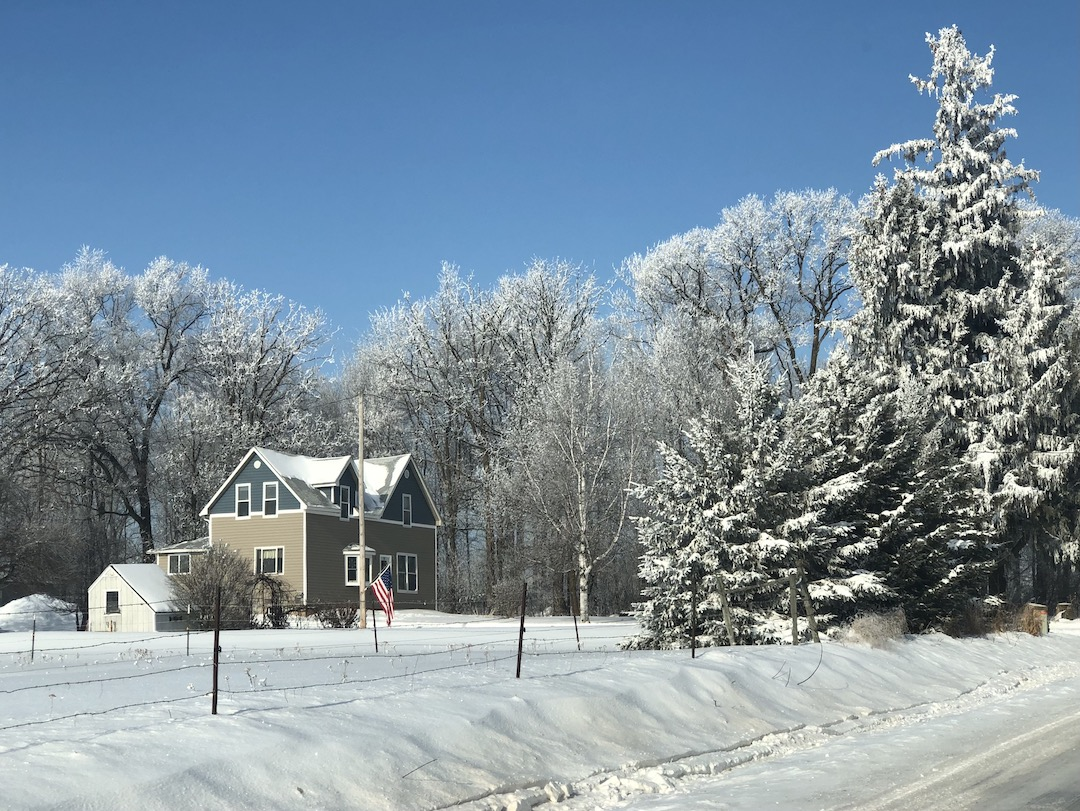 Wisconsin farmhouse