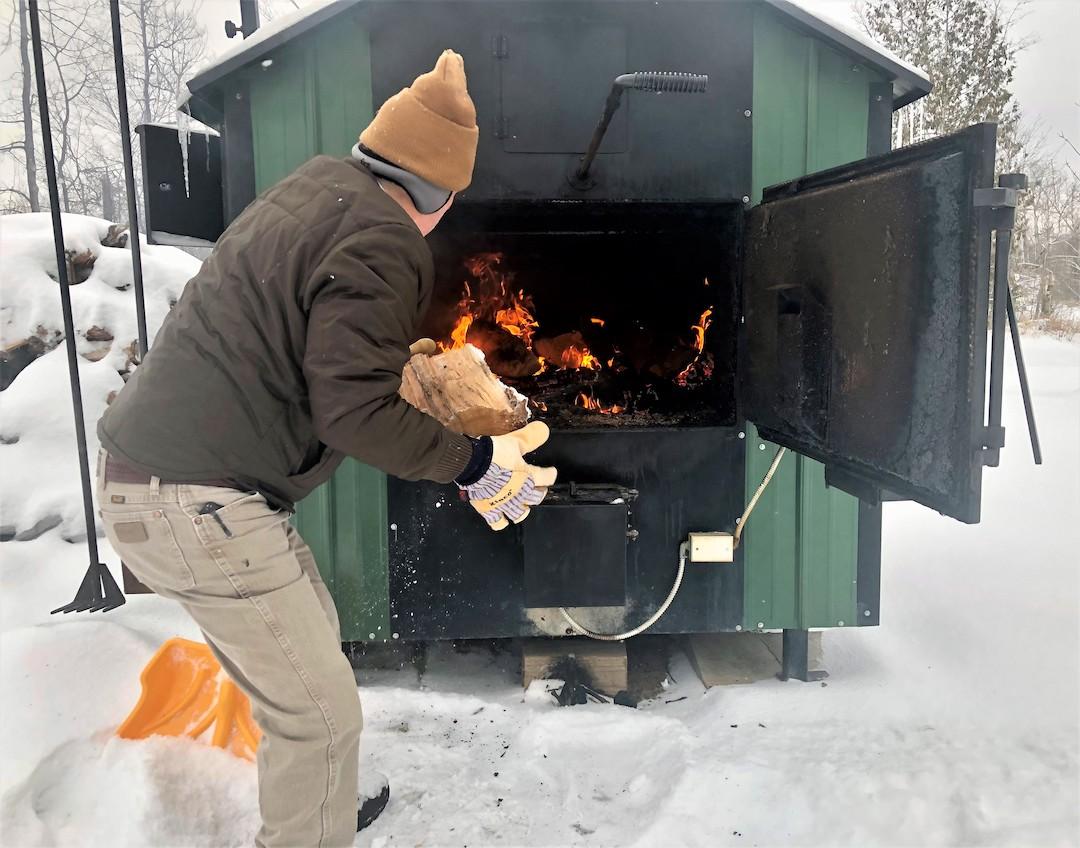 Outdoor furnace