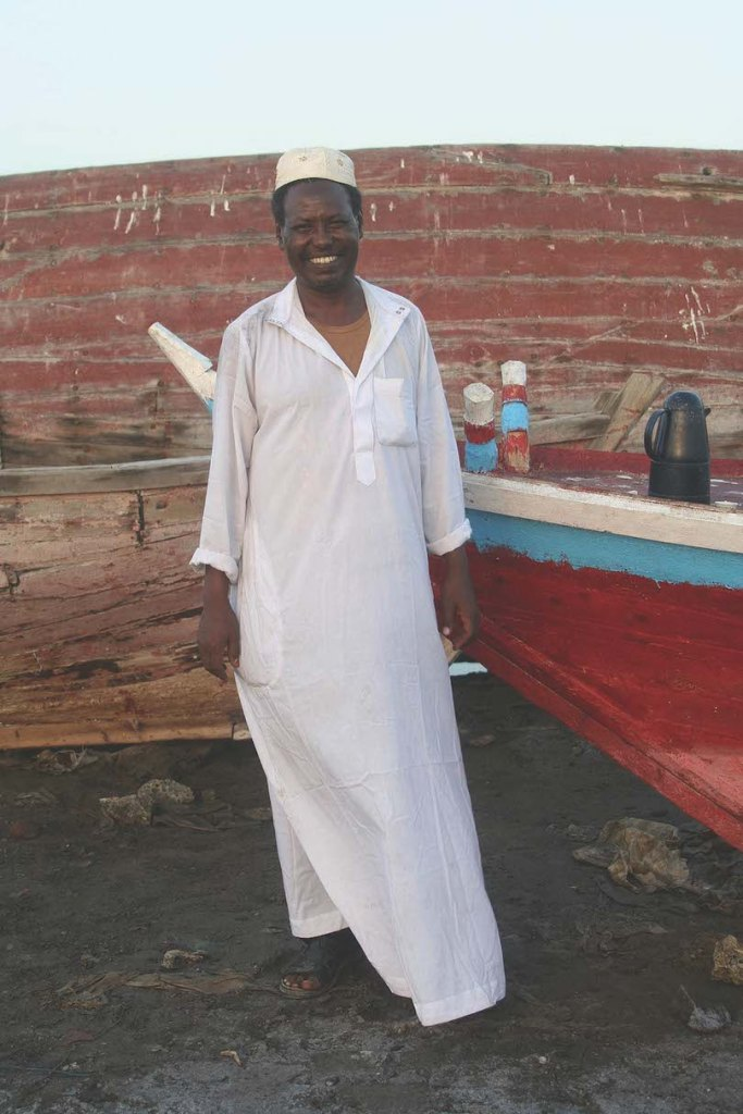 Mohammed, our go-to man in Eritrea, page 292, The Long Way Back