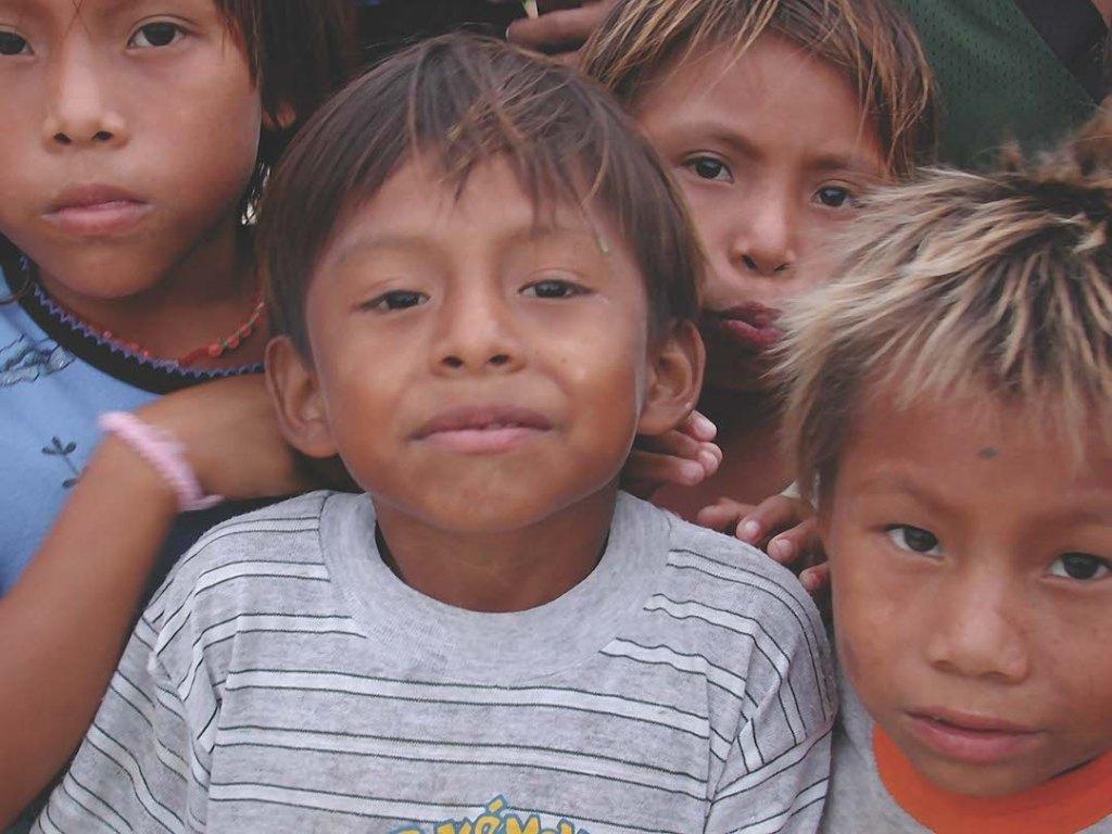 Boys, San Blas Archipelago