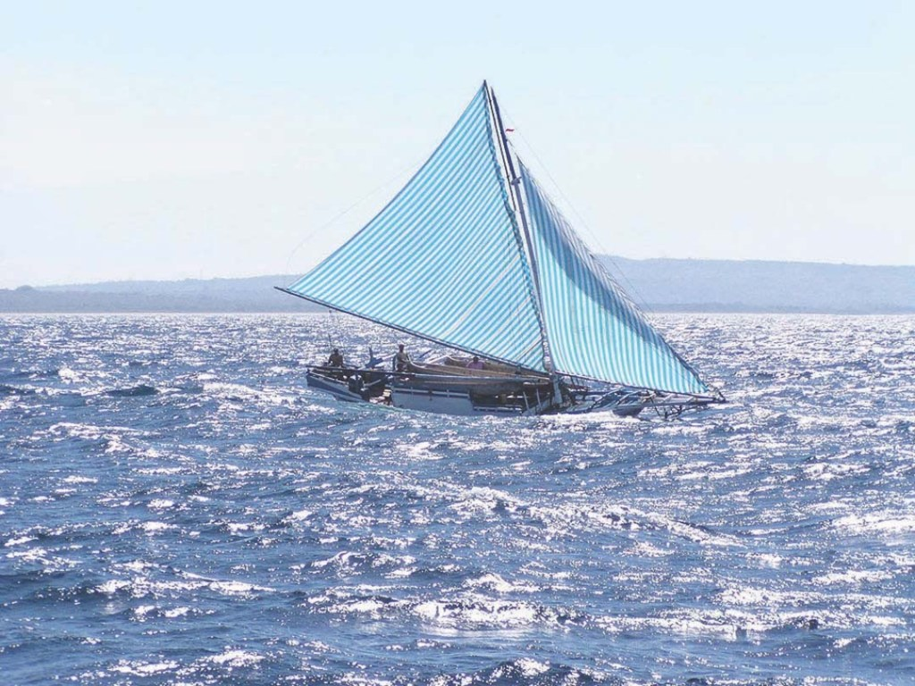 Indonesian sailboat